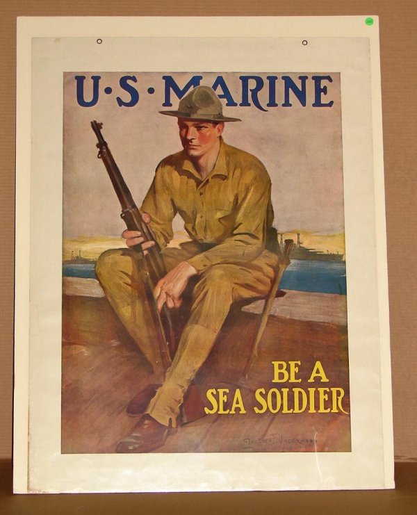 1008: ORIG. WWI POSTER - CLARENCE F. UNDERWOOD
