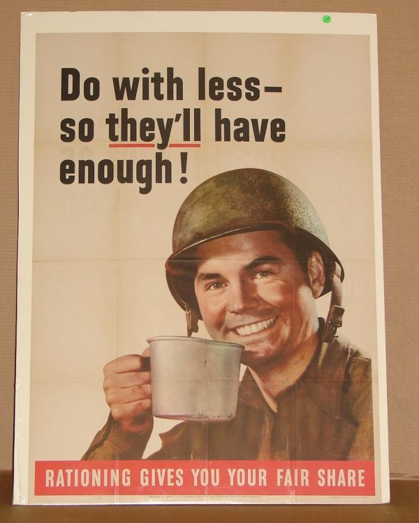 1009: ORIG WWII POSTER