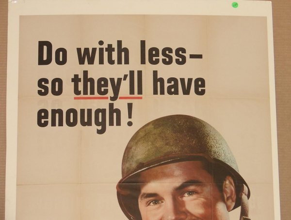 1009: ORIG WWII POSTER - 2