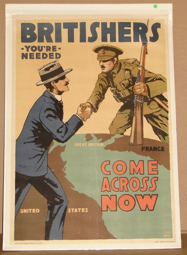 1010: ORIG. WWI POSTER - LLOYD MEYERS