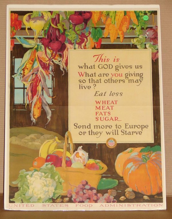 1020: ORIG. WWI POSTER - A. HENDEE