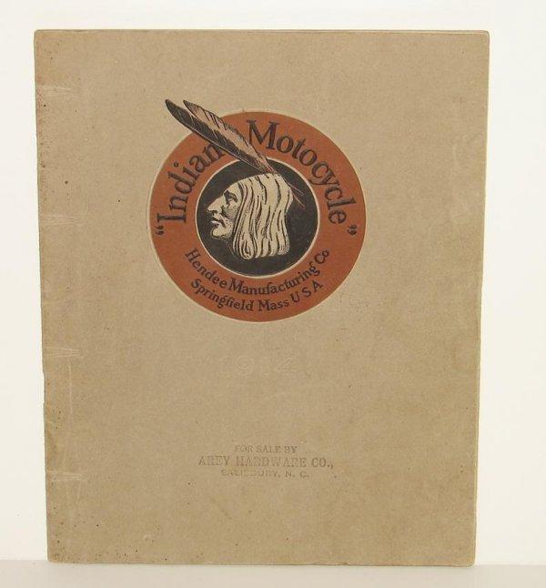 2156: 1914 INDIAN MOTORCYCLE CATALOG