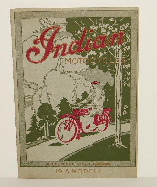 2157: 1913 INDIAN MOTORCYCLE PARTS CATALOG