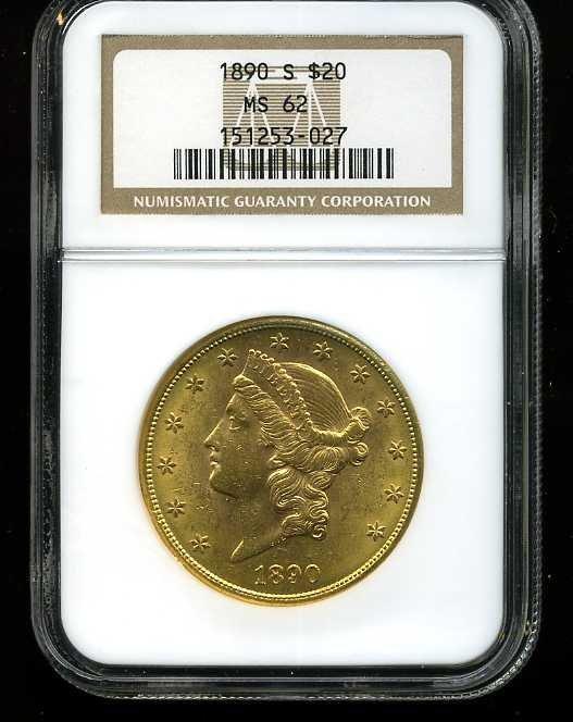 2: $20 DOUBLE EAGLE GOLD COIN