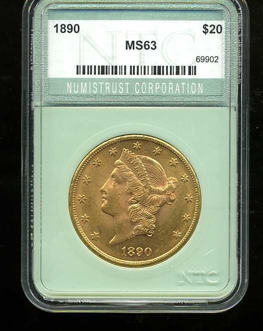 3: $20 DOUBLE EAGLE GOLD COIN