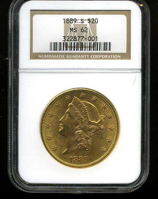 4: $20 DOUBLE EAGLE GOLD COIN