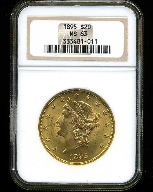6: $20 DOUBLE EAGLE GOLD COIN