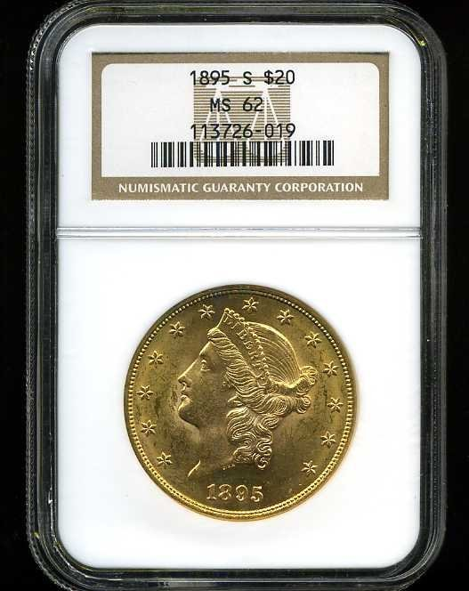 7: $20 DOUBLE EAGLE GOLD COIN