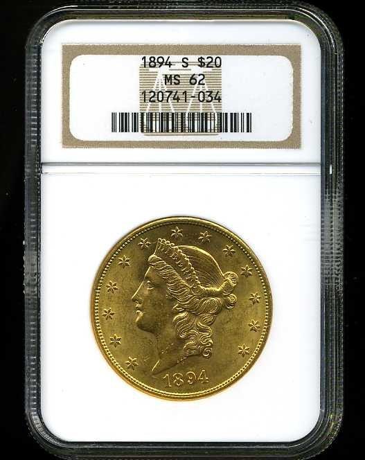8: $20 DOUBLE EAGLE GOLD COIN
