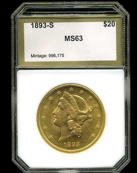 9: $20 DOUBLE EAGLE GOLD COIN