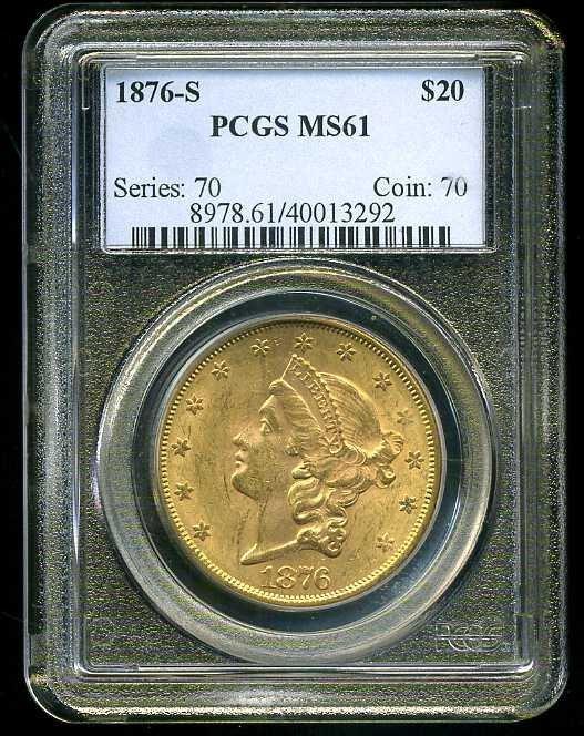 10: $20 DOUBLE EAGLE GOLD COIN