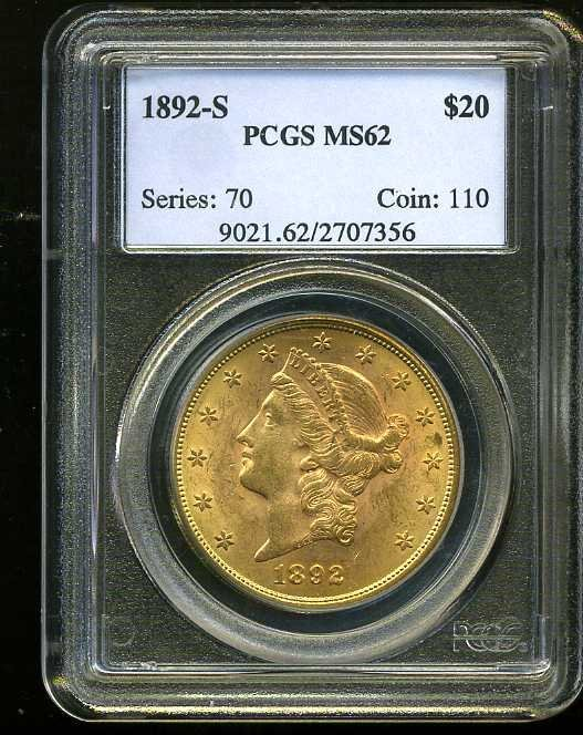 13: $20 DOUBLE EAGLE GOLD COIN