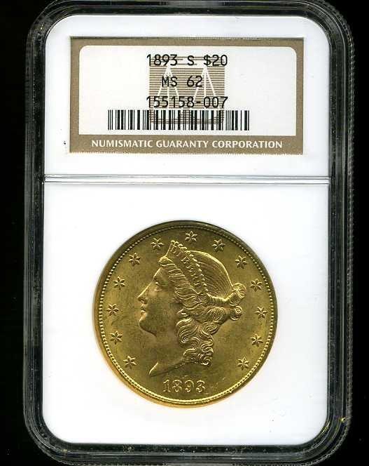 14: $20 DOUBLE EAGLE GOLD COIN