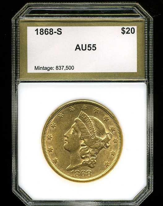 15: $20 DOUBLE EAGLE GOLD COIN