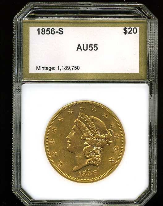 16: $20 DOUBLE EAGLE GOLD COIN