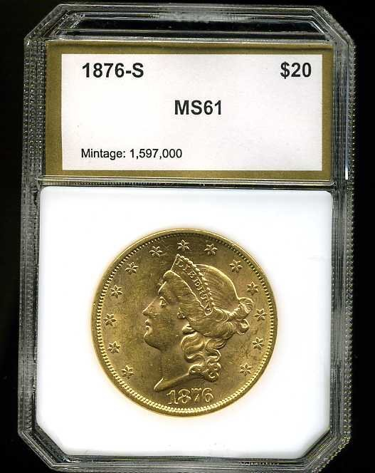 17: $20 DOUBLE EAGLE GOLD COIN