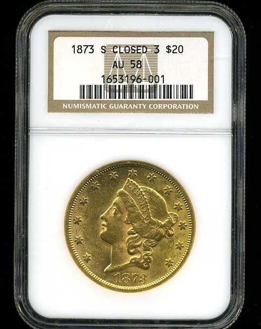 18: $20 DOUBLE EAGLE GOLD COIN
