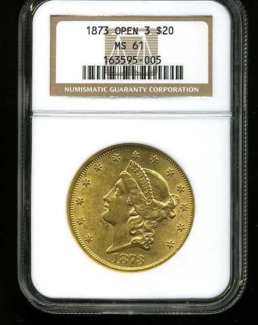 20: $20 DOUBLE EAGLE GOLD COIN