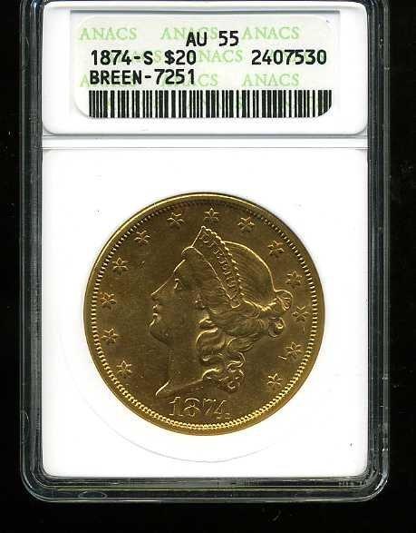 21: $20 DOUBLE EAGLE GOLD COIN