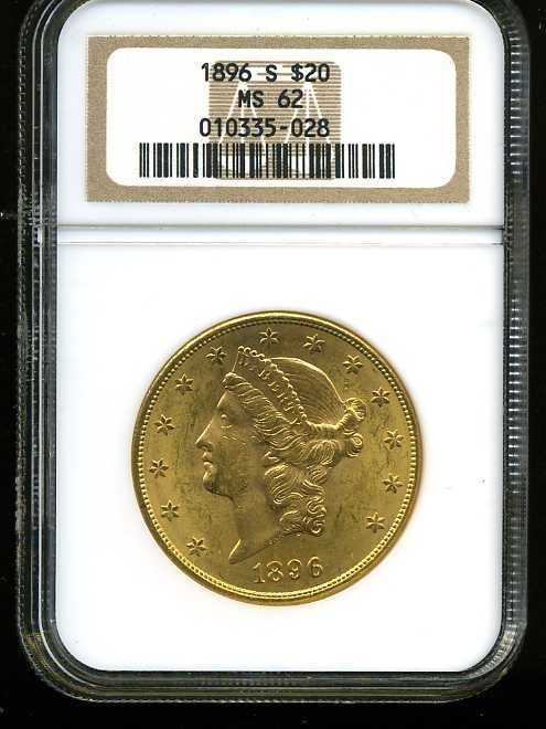 22: $20 DOUBLE EAGLE GOLD COIN