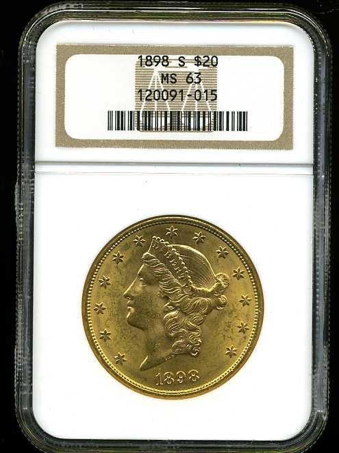 24: $20 DOUBLE EAGLE GOLD COIN