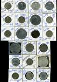 103 FOREIGN COIN LOT