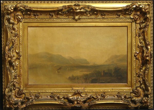 639: HERMANN FUECHSEL STORM KING OIL/CANVAS19TH C