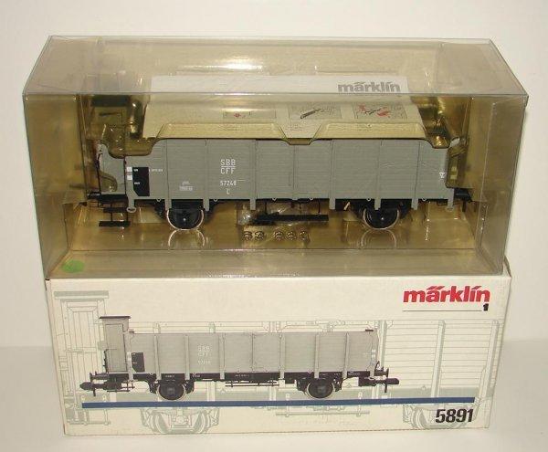 1020: MARKLIN 1 GAUGE 5891 SBB L6