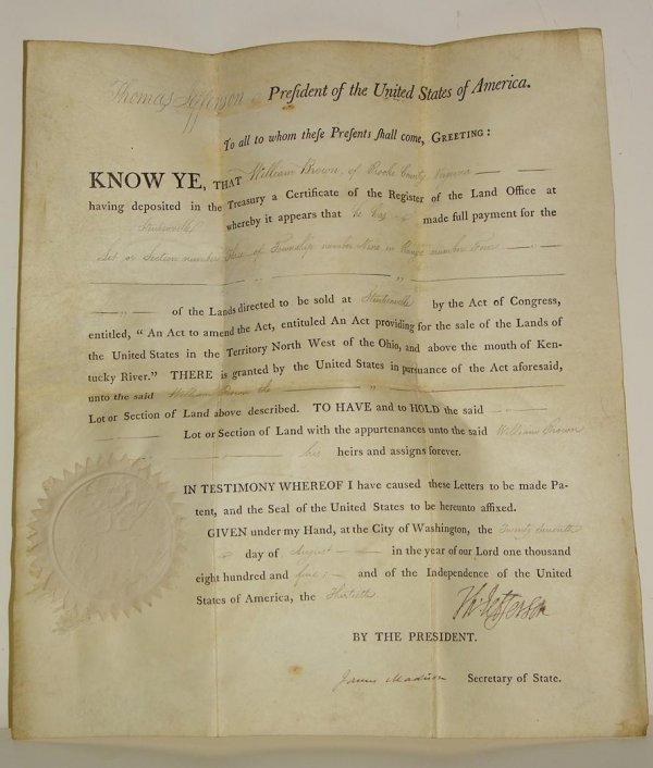 1: JEFFERSON - MADISON DOCUMENT.