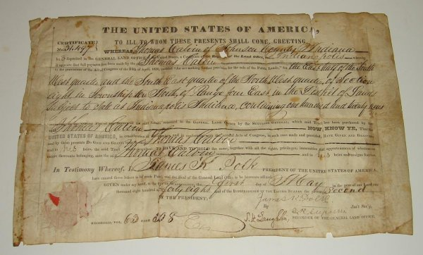 2: JAMES K. POLK  DOCUMENT.