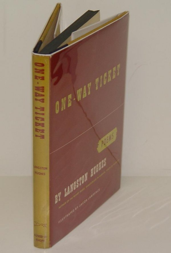 242: SIGNED LANGSTON HUGHES. ONE-WAY TICKET 1ST ED - 2