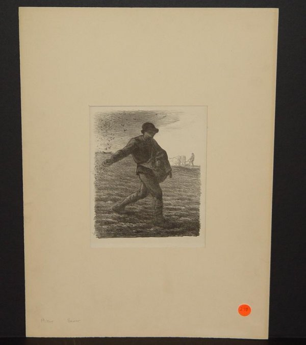 "278: J. F. MILLET. ""THE SOWER"""
