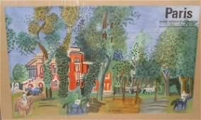 1301: RAOUL DUFY ART POSTER
