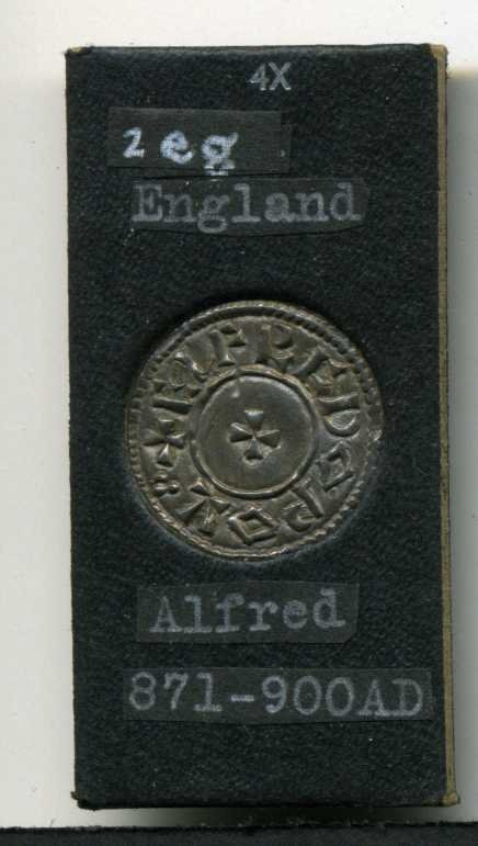 12: ENGLAND. ALFRED 871-900.