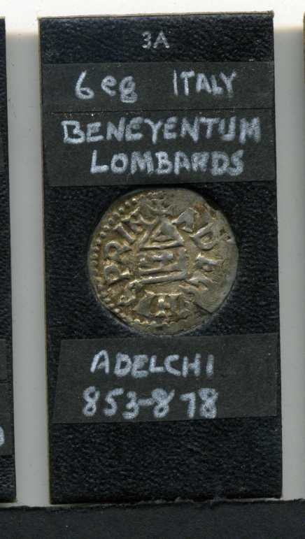 15: ITALY. LOMBARDS. 853-878.