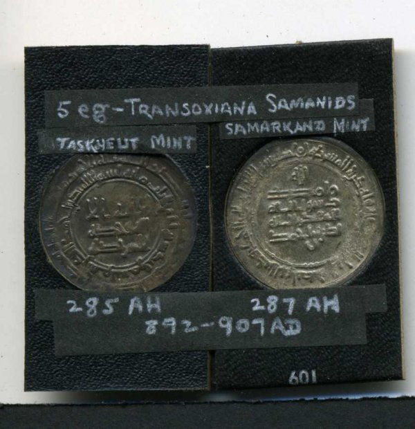 17: LOT OF TWO. TRANSOXIANNA SAMANIDS.