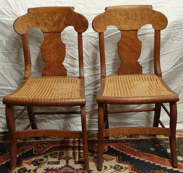 2289: 2 SMITH ELY CHAIRS CIRCA 1830