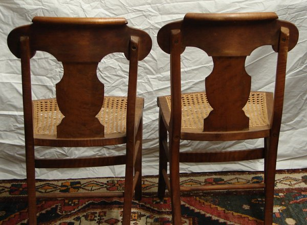 2289: 2 SMITH ELY CHAIRS CIRCA 1830 - 4