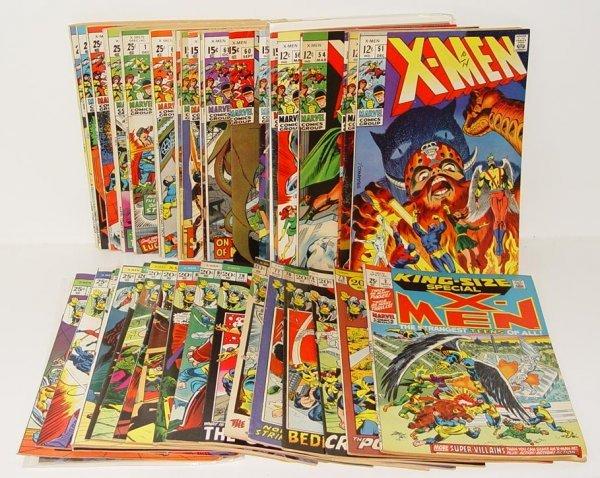 3494: X-MEN HIGH GRADE LOT.