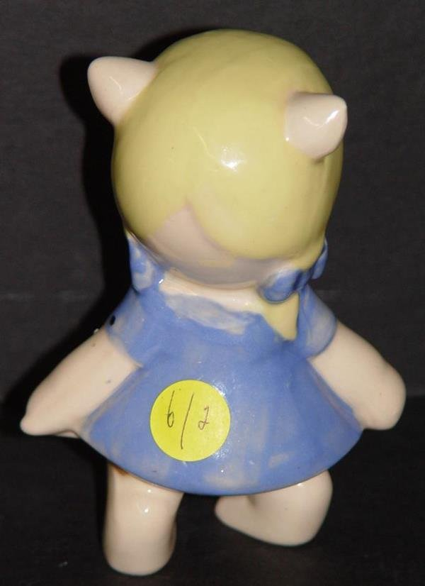 4006: AMERICAN POTTERY PORKY/PETUNIA PIG FIGURINES - 6