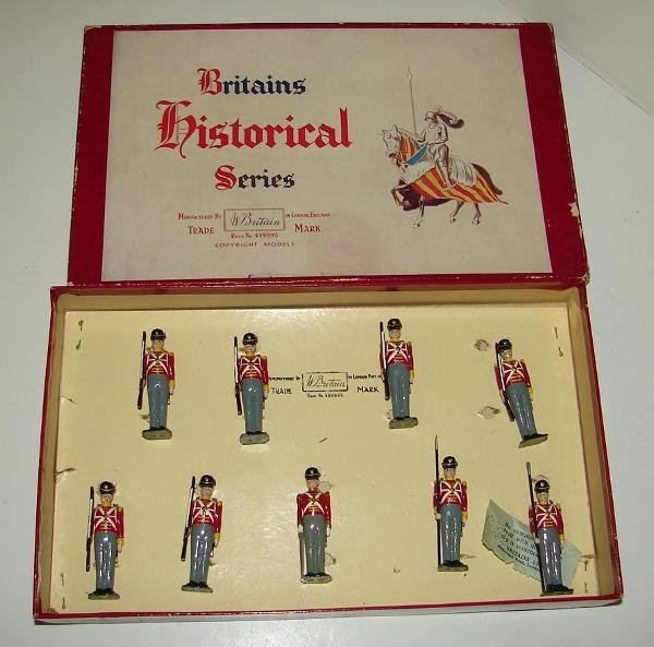 4011: BRITAINS SET # 1518