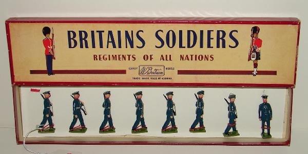 4016: BRITAINS POST-WAR SET # 2044