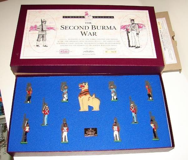 4024: BRITAINS SET #0110 2ND BURMA WAR