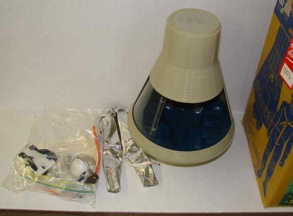 4100D: BOXED 1966 G.I. JOE SPACE CAPSULE & SPACESUIT - 2