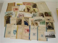 85: NORTH GERMAN LLOYD PAPER EPHEMERA LOT