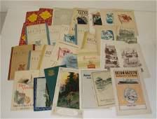 86: NORTH GERMAN LLOYD PAPER EPHEMERA LOT