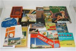164 NEW YORK WORLDS FAIR COLLECTIBLES LOT