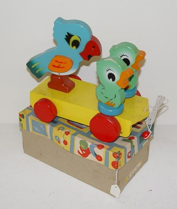1012: VINTAGE BOXED PULL TOY JAPAN