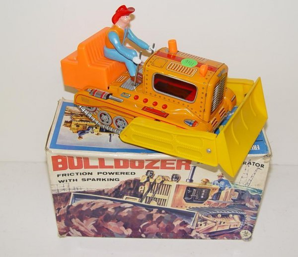 1016: BOXED FRICTION BULLDOZER W/OPERATOR