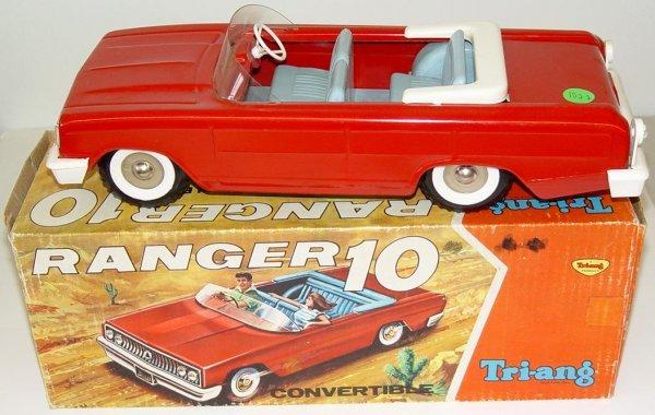 1022: BOXED TRI-ANG CONVERTIBLE RANGER 10